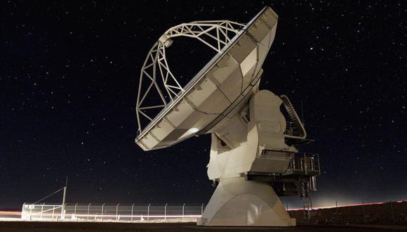 Tres telescopios ubicados en América Latina participaron del proyecto que logró tomar la imagen del agujero negro. (Foto: ALMA)