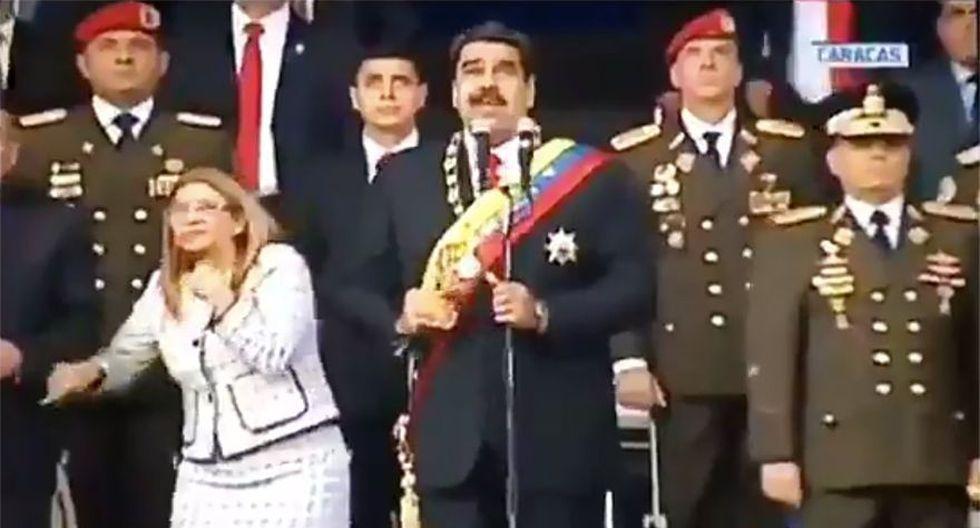 Venezuela: 3 nuevos detenidos por atentado con drones contra Nicolás Maduro. (AFP)