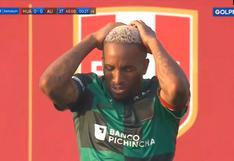Alianza Lima vs. Sport Huancayo: Farfán pudo anotar el 1-0 pero su disparo se fue desviado [VIDEO]