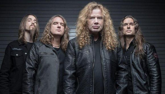 Dave Mustaine de Megadeth fue diagnosticado de cáncer de garganta y se cancelaron todas las presentaciones. (Foto: Agencia)