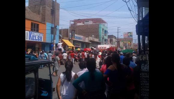 Tres muertos tras balacera en calle Lima (Foto: Barranca para todos)