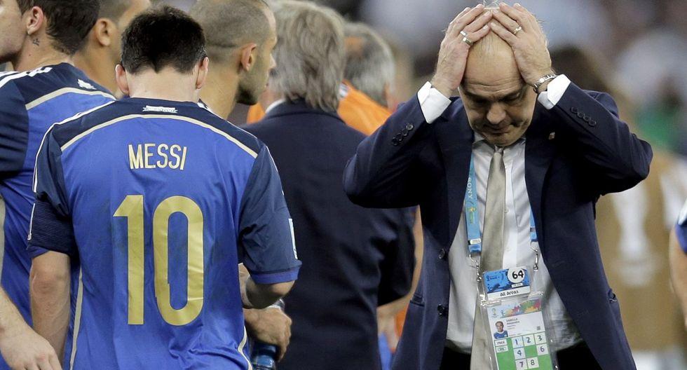 Alejandro Sabella dirigió a Argentina entre 2011 y 2014. Con él, la  'Albiceleste' quedó subcampeona del Mundial de Brasil. (Foto: AFP)