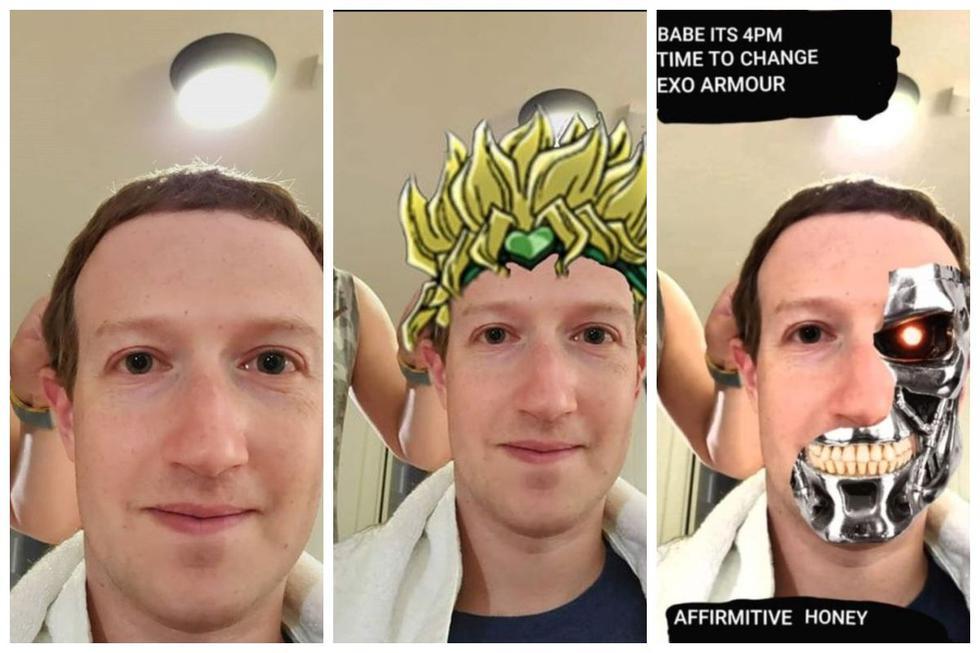 Los mejores memes del corte de pelo de Mark Zuckerberg.