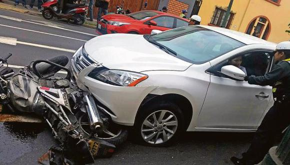 Agresividad al volante es una de las causas de accidentes