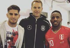 Instagram: Carlos Zambrano y el emotivo mensaje tras su reencuentro con Farfán y Neuer