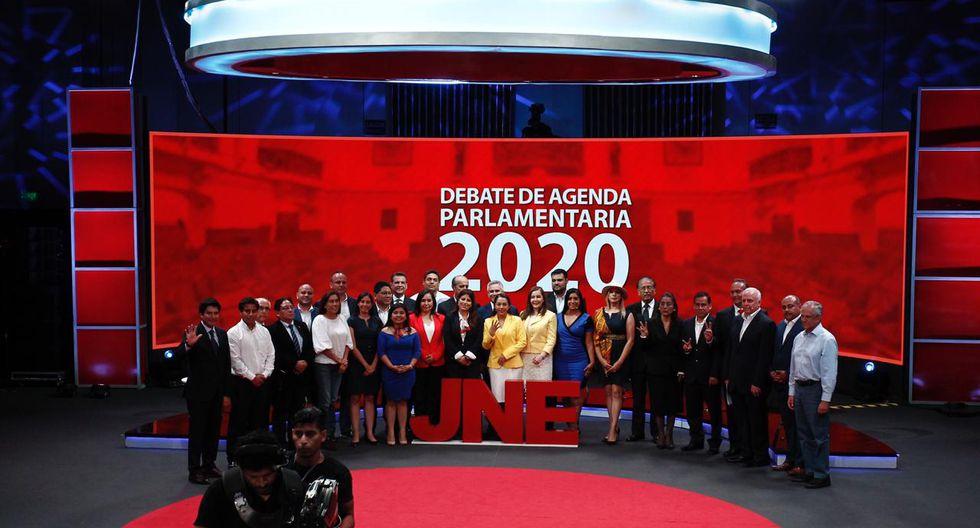 Con este debate se culminó con los tres debates electorales, promovidos por el Jurado Nacional de Elecciones, con la asistencia de los 21 partidos políticos participantes del proceso. (Foto Leandro Britto / GEC)