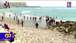 Solo 39 playas en el litoral peruano son consideradas saludables