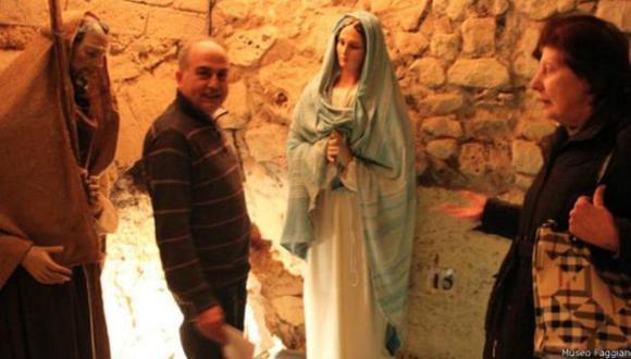 Familia halló tesoro arqueológico mientras arreglaba su baño