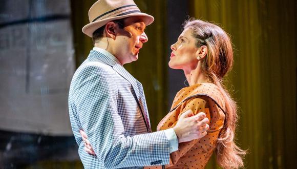 """Teatro en Estados Unidos se reanudará con la obra """"Tía Julia y el escribidor"""", basada en la novela de Mario Vargas Llosa. (Foto: GALA Hispanic Theatre)"""