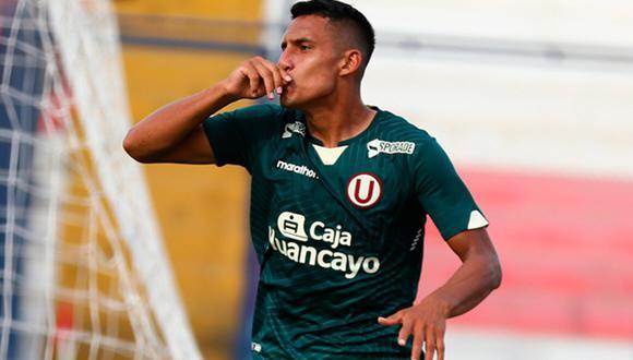 Álex Valera cumple su primera temporada con Universitario de Deportes. (Foto: Liga de Fútbol Profesional)