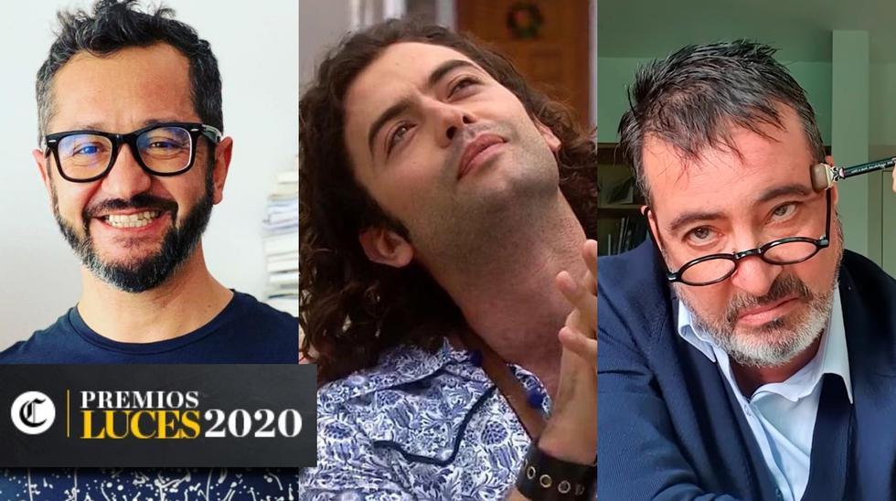 """<a href=""""url""""></a><a href=""""http://premiosluces.elcomercio.pe/"""">Vota aquí por tus favoritos en los Premios Luces</a> Los premios Luces 2020 volverán a poner en las manos de los lectores de El Comercio la elección del ganador a Mejor actor de televisión. En esta nota, te presentamos a los nominados de la categoría. Fotos: Gonzalo Molina en Instagram/ América TV/ El Comercio en YouTube."""