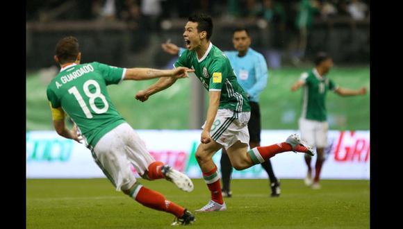 México superó en un complicado encuentro a Panamá y aseguró su presencia en el Mundial Rusia 2018. El gol de la clasificación fue marcado por Hirving Lozano en la segunda mitad. Foto: Reuters