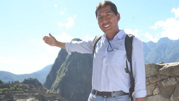 """Efraín Valles: """"El turismo puede cambiar a nuestro país"""""""