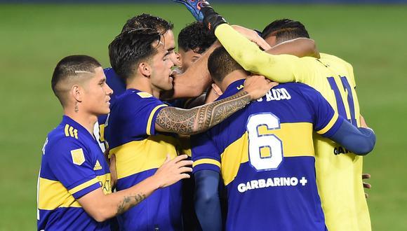 Boca Juniors se medirá ante Racing Club en la semifinal de la Copa de la Liga argentina. (Foto: AFP)