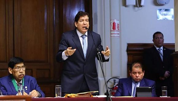 Iván Noguera es investigado por el caso Los Cuellos Blancos del Puerto. (Foto: GEC)