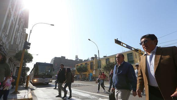 En Lima Oeste, la temperatura máxima llegaría a 21°C, mientras que la mínima sería de 15°C.  (Foto: GEC)