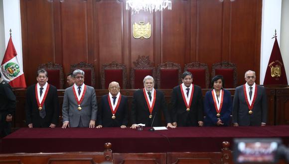 El pleno del TC, aún tienen entre manos, la resolución de casos importantes, no solo para la estabilidad social del país; sino también sobre cuestiones laborales y cuestiones de garantías personales. (Foto: El Comercio)