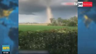 Tornados provocan daños importantes en regiones de Italia