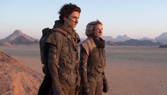 """""""Dune"""", con Timothée Chalamet y Rebecca Ferguson, tendrán un estreno simultáneo en cines y servicios de streaming. (Foto: Warner Bros.)"""