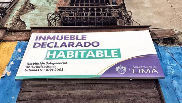 El inmueble monumental, ubicado entre los jirones Callao y Cañete, está tugurizado y podría desplomarse. (Foto: Facebook Lima Antigua)