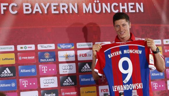 Robert Lewandowski fue presentado en Bayern Múnich
