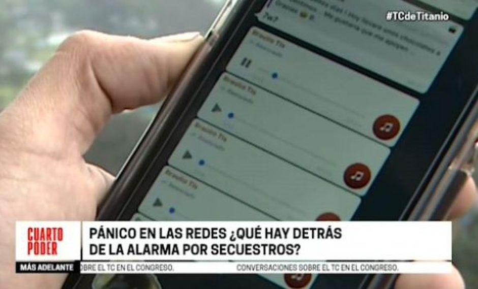 Las falsas noticias se difunden a través de WhatsApp y redes sociales. (Cuarto Poder)