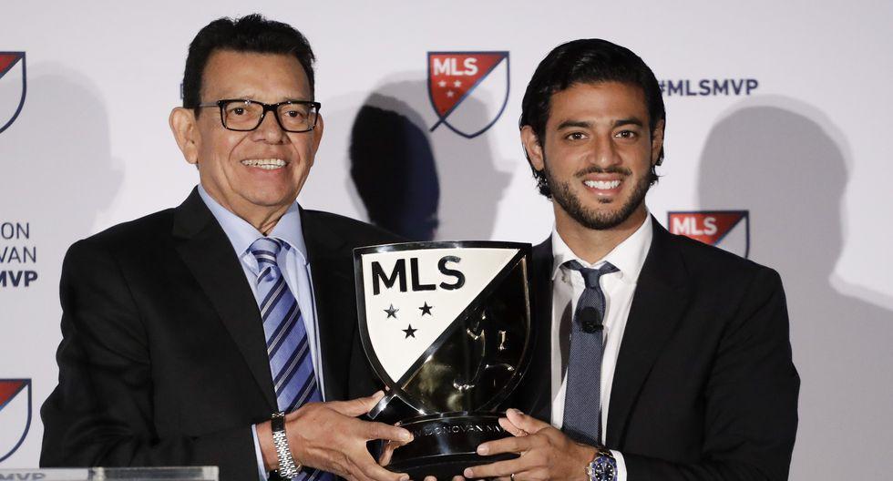 Carlos Vela fue elegido como el mejor jugador de la MLS | Foto: AP