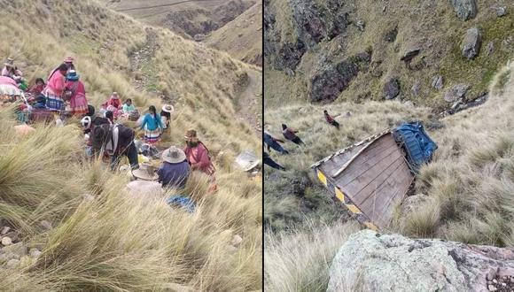 Cusco: Camión cae a barranco de 100 metros y deja al menos 16 heridos de gravedad (Foto: Juan Sequeiros)