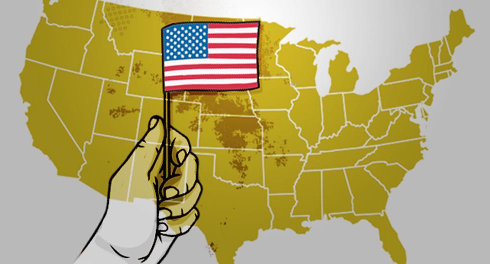 El miércoles el presidente Donald Trump firmó una orden ejecutiva que restringe parcialmente la inmigración legal a Estados Unidos como respuesta a la crisis causada por el COVID-19 que, a su vez, ha provocado que se pierdan 26 millones de empleos desde mediados de marzo. (Ilustración: Antonio Tarazona / El Comercio)
