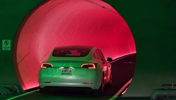 Compañía de Elon Musk mostró los túneles para conducir bajo tierra. (Foto: AFP)
