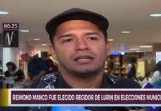 Lurín: Reimond Manco fue elegido como regidor de la comuna distrital