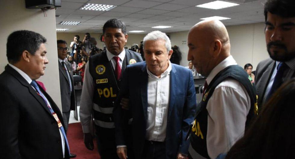 Luis Castañeda Lossio, tres veces alcalde de Lima, afrontará investigación por Caso OAS bajo prisión preventiva. (Foto: Poder Judicial)
