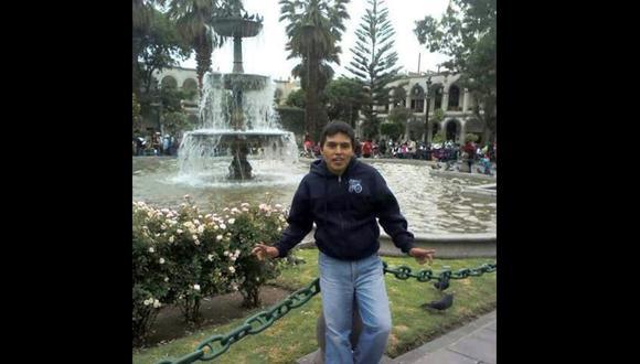 Jhon Barrientos Sucasaca realizaba labores de limpieza en un colegio. Su familia aún lo busca. (Foto: Difusión)