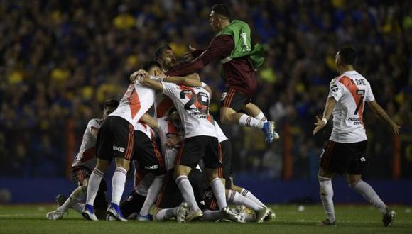 River perdió 1-0 ante Boca en la semifinal de vuelta de la Copa Libertadores 2019, pero el Millonario avanzó a la definición continental tras imponerse 2-0 en la ida. (Foto: AFP)