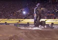 Youtube: Mira el primer Front Flip de un Monster Jam   VIDEO