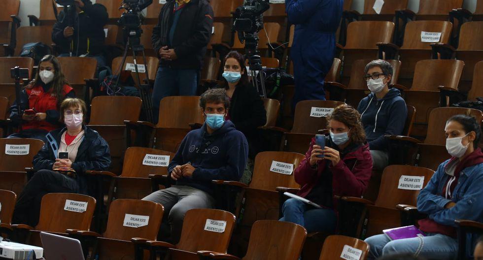 El Ministerio de Salud (Minsa), a través de la Dirección General de Gestión del Riesgo de Desastres y Defensa Nacional en Salud (Digerd), informó este sábado que llegó un grupo de 9 médicos de España. (Foto: Fernando Sangama / GEC)