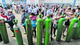 Balones de oxígeno: revendedores aprovechan la escasez para lucrar con las necesidades de la población