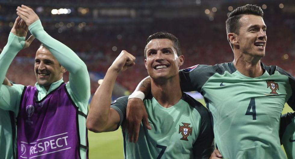 Portugal: la celebración de Cristiano y todos sus compañeros  - 13