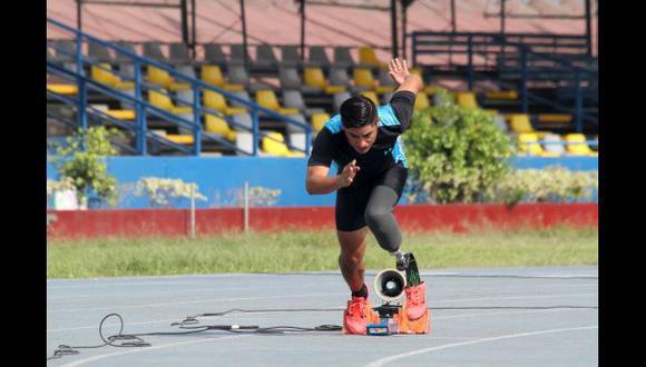 Juegos Paralímpicos: peruano Casas quedó séptimo en 200 metros