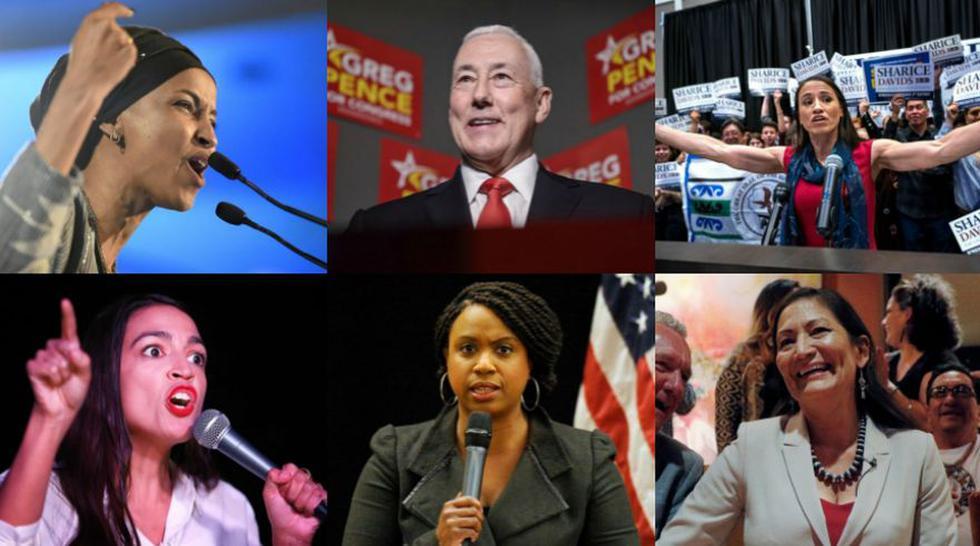 Elecciones en Estados Unidos | Los nuevos rostros del Congreso | FOTOS