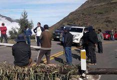 Áncash: comuneros bloquean carretera Huaraz - Casma durante cuarentena por COVID-19
