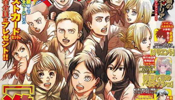 """¿Qué pasó con cada personaje al final de """"Shingeki no Kyojin""""? (Foto: Kodansha)"""