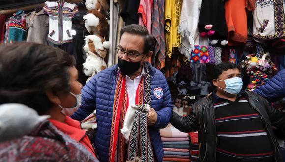 El expresidente encabeza la lista al Congreso por Lima del partido político Somos Perú. (Foto: Melissa Valdivia, colaboradora de El Comercio)
