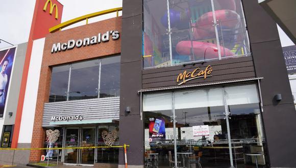 Pueblo Libre clausuró local de McDonald's tras muerte de dos jóvenes trabajadores. (Municipalidad de Pueblo Libre)