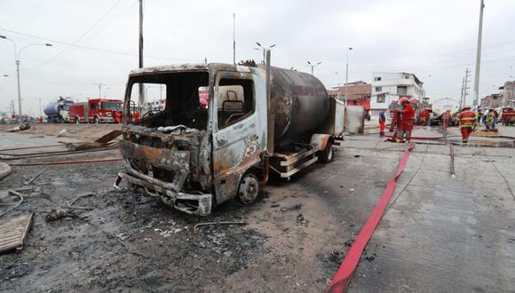 La tragedia ocurrida en Villa El Salvador ha relevado la existencia de enormes falencias en todo el proceso de autorizaciones para el transporte de combustibles. (Foto: GEC)