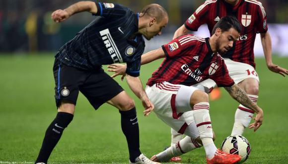 Inter vs. AC Milan: empató 0-0 por el derbi de la Serie A