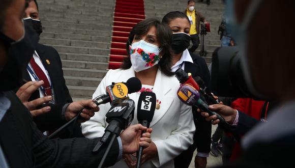 La vicepresidenta ha manifestado que respaldará la libertad de expresión en el Perú. (Foto: Alessandro Currarino / @photo.gec)