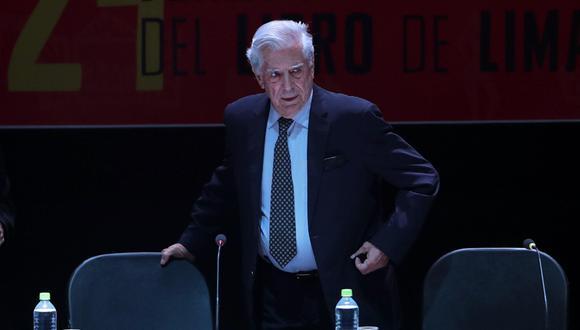 Mario Vargas Llosa en la FIL Lima 2019. (Foto: Agencias)