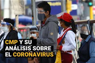 Colegio Médico del Perú analiza la pandemia del coronavirus