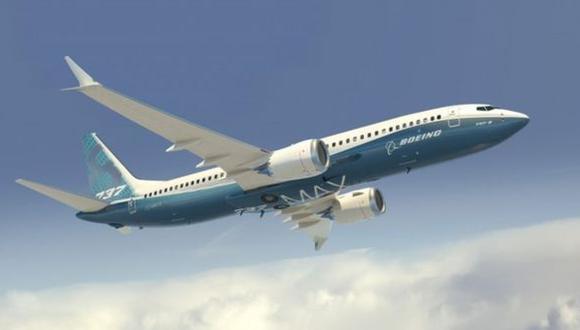 El modelo MAX 8 de Boeing está en uso comercial desde el año 2017. (Boeing)
